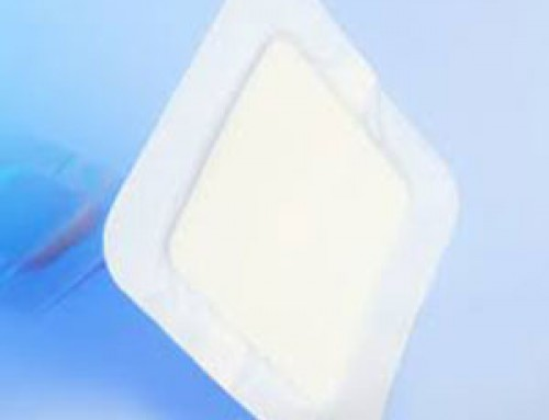 Hydrocolloid foam dressing