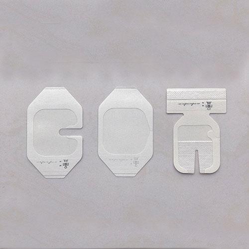 Transparent adhesive film dressing