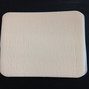 Silicone adhesive foam dressing