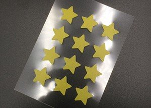 Star acne patch